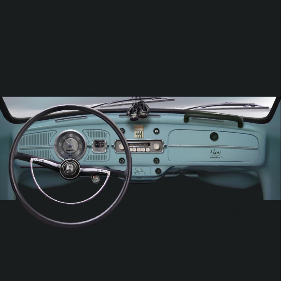 VW Kever dashboard