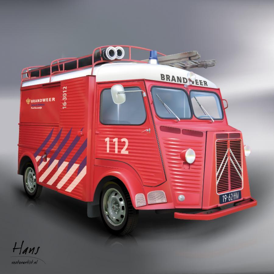 Citroën brandweer